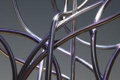 Rohre der gebogenen Form 001-130508 stockfotografie