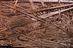 Rohre der kupfernen Gefäße Lizenzfreies Stockbild