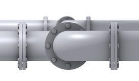 Rohrleitung-Detail Stockfotos