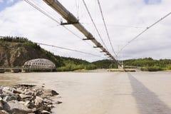 Rohrleitung und Selbstbrücken Lizenzfreie Stockbilder