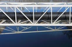Rohrleitungs-Brücke Stockbilder