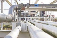 Rohrleitungstransport Öl, Lizenzfreies Stockbild