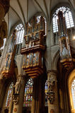 Rohrorgan im Innenraum Kathedrale der Str.-Michael stockfotos