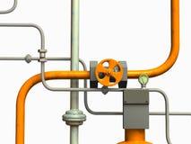 Rohrsystem stock abbildung