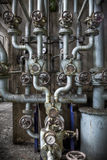Rohrverbindungpunkt Lizenzfreies Stockfoto