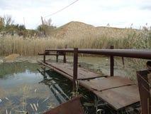 Rohrwasserpumpe Stockfotografie