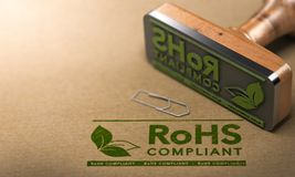 ROHS Compliant Royalty Free Stock Images