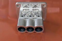 Rohstoff für die Nockenwelle, die durch Eisenguss hergestellt wird, zerteilt für automot Stockbilder