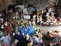Rohstoffmarkt in Bali Indonesien Lizenzfreies Stockfoto