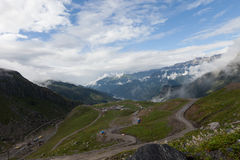Rohtang Pass Stock Image
