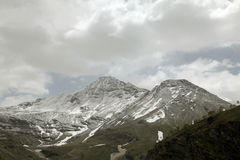 Rohtang pass mountains Royalty Free Stock Photos