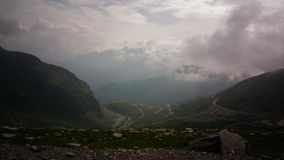 Rohtang pass view stock photo