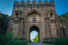 Rohtas fort Sohail Gate Arkivfoton