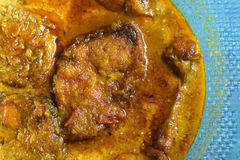 Rohu fish kalia - a spicy Bengali dish Stock Photography