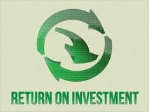 ROI arrows symbol Stock Image