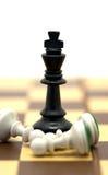 Roi d'échecs Photo libre de droits