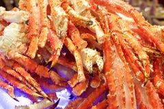 roi d'Alaska de crabe image libre de droits