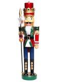 Roi de casse-noix de Noël Photographie stock libre de droits