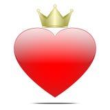 Roi de coeur illustration de vecteur