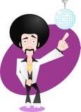 Roi de disco Photos stock
