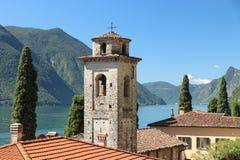 Roi de Fogazzaro da casa de campo, uma residência antiga em Itália imagens de stock