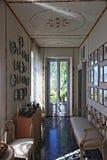 ROI de Fogazzaro de villa, une résidence antique en Italie photos stock