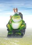 Roi de grenouille illustration de vecteur