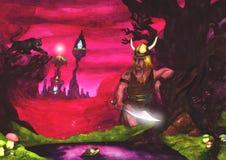 Roi de guerrier (2006) Image libre de droits