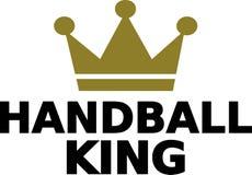 Roi de handball illustration de vecteur