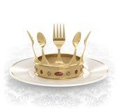 Roi de la cuisine illustration libre de droits
