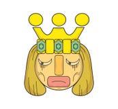 Roi de la tristesse Images stock
