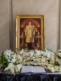 Roi de mémorial de la Thaïlande Photographie stock