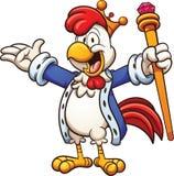 Roi de poulet illustration de vecteur