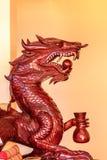 Roi de sculpture en Nagas Image stock