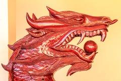 Roi de sculpture en Nagas Images libres de droits