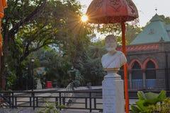 Roi de shivaji Maharaj de chattrapathi de maharashtra image libre de droits