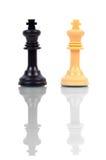 Roi des échecs deux Photo stock