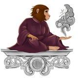 Roi des singes Photographie stock
