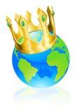 Roi du concept du monde illustration libre de droits