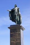 Roi Gustaf III Photographie stock libre de droits