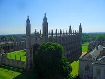 roi s d'université de chapelle de Cambridge Image libre de droits