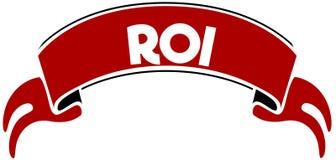ROI sulla banda rossa Immagini Stock