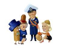 Roi Willem Alexandre Image libre de droits