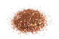 Roibos tea leaves Stock Images