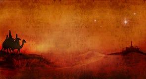 Rois à travers le désert 2 illustration libre de droits
