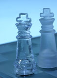 Rois d'échecs Image libre de droits