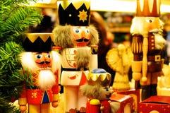 Rois de casse-noix de Noël Image stock