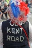 Rois et robe et chapeau nacrés de Queens Image libre de droits