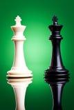 Rois noirs et blancs Image stock