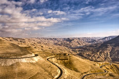 ROIS ROAD - JORDANIE Images stock